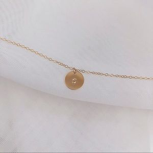 Jewelry - Personalized Initial Necklace, 1 Disc.